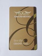 MALTA HOTEL KEY CARD - (  THE GRAND HOTEL  )  MALTA MGAR GOZO - Hotelkarten