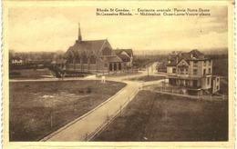 RHODE ST GENèSE   Espinette Centrale Parvis Notre Dame - Rhode-St-Genèse - St-Genesius-Rode