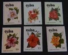 """CUBA YT 2086//2089 +YT PA 308/309 NEUFS**MNH"""" FLEURS D HIBISCUS"""" ANNÉE 1978 - Neufs"""