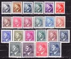Germania-Protettorato Boemia E Moravia 1942-Hitler Serie Completa Nuova MLLH - Germany