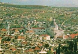 NAZARETH-PARTIAL VIEW- VIAGGIATA 1975 - Israele