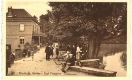 RHODE ST GENèSE Sept Fontaines  L'embarcadère - Rhode-St-Genèse - St-Genesius-Rode