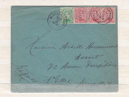 Envlps    Timbres Roi Albert  1919  Express - 1915-1920 Albert I