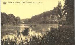RHODE ST GENèSE Sept Fontaines  Vue Sur Le Château - Rhode-St-Genèse - St-Genesius-Rode
