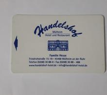 HOTEL KEY CARD - (  HANDELSHOF  HOTEL )   GERMANY - Hotelsleutels (kaarten)