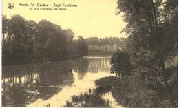 RHODE ST GENèSE Sept Fontaines Un Coin Pittoresque Des étangs - Rhode-St-Genèse - St-Genesius-Rode