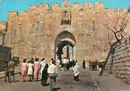 JERUSALEM-AM STEPHANSTOR- VIAGGIATA 1968 - Israele
