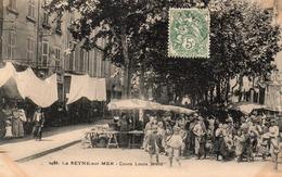 83 LA SEYNE SUR MER COURS LOUIS BLANC LE MARCHE SUPERBE ANIMATION - La Seyne-sur-Mer