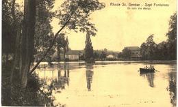 RHODE ST GENèSE Sept Fontaines  Un Coin Des étangs - Rhode-St-Genèse - St-Genesius-Rode