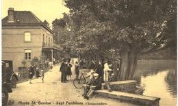 RHODE ST GENèSE Sept Fontaines  L' Embarcadère - Rhode-St-Genèse - St-Genesius-Rode
