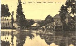 RHODE ST GENèSE Sept Fontaines   Les Kiosques - Rhode-St-Genèse - St-Genesius-Rode