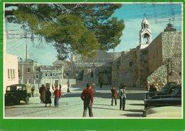 BETHLEHEM-CHURCH OF NATIVITY- VIAGGIATA 1977 - Israele
