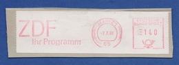 BRD AFS - MAINZ, ZDF Ihr Programm 7.7.81 - Machine Stamps (ATM)
