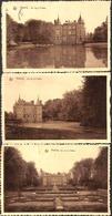 Anvaing - Lot 3 Cartes Du Château (+ 2 Griffe ANVAING) - Frasnes-lez-Anvaing