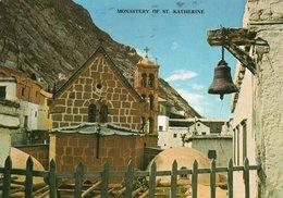 MONASTERY OF ST. KATHERINE- VIAGGIATA 1977 - Israele