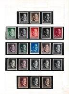 Duitse Rijk, General Gouvernement, Verzameling *, Zeer Mooi Lot 4159, ( 4 Scans ) - Sellos