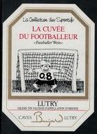 Etiquette De Vin // Lutry, La Cuvée Du Footballeur - Soccer