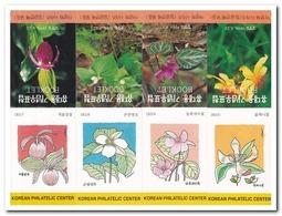 Zuid Korea 1996, Postfris MNH, Flowers ( Booklets, Carnets ) - Korea (Zuid)