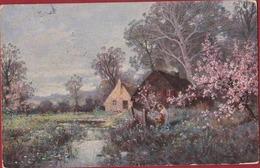 Old Postcard Art Painting Illustrator Illustrateur Kaufman ? Kunstkaart CW Faulkner & Co United Kingdom - Illustrateurs & Photographes
