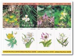 Zuid Korea 1995, Postfris MNH, Flowers ( Booklets, Carnets ) - Korea (Zuid)