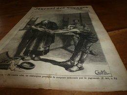 1882 JDV:Gravure -->Les Supplices Au Japon (Japan);Les Naufragé De LA JEANNETTE (suite); Czar Et Czarine à Gatschina;etc - Kranten