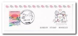 Zuid Korea 1991, Postfris MNH, New Year, Birds ( Booklets, Carnets ) - Korea (Zuid)