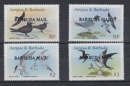 Antigua Und Barbuda Mi.-Nr. Satz 958-961 Postfrisch ** / MNH Vögel Barbuda MAIL - Antigua Und Barbuda (1981-...)