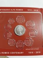 ITALIA 2010  EURO 5  CENT. ALFA ROMEO FDC - Italia