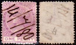S.-Cristoforo-005 - Emissione 1875-79 (o) Used - Senza Difetti Occulti. - St.Cristopher-Nevis & Anguilla (...-1980)