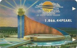 Golden Moon Casino At Pearl River Resort - Philadelphia MS - Hotel Room Key Card - Hotel Keycards
