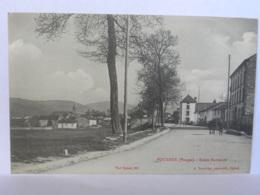 CPA (88) Vosges - POUXEUX - Route Nationale - Pouxeux Eloyes