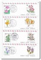 Zuid Korea 1994, Postfris MNH, Flowers ( Booklets, Carnet ) - Korea (Zuid)