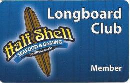 Half Shell Seafood & Gaming - Henderson, NV - Slot Card - Casinokarten