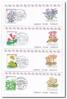 Zuid Korea 1993, Postfris MNH, Flowers ( Booklets, Carnet ) - Korea (Zuid)