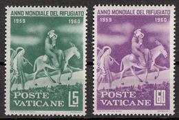 "Vaticano 1960 Uf. 275-278 ""Armadio Argenti  : Fuga In Egitto"" Quadro Dipinto Da Beato Angelico Used Paintings MNH - Other"