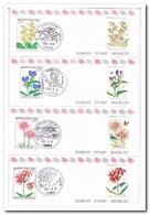Zuid Korea 1992, Postfris MNH, Flowers ( Booklets, Carnet ) - Korea (Zuid)