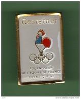JO ALBERTVILLE 92 *** GESTETNER ***  1034 - Jeux Olympiques