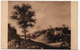 Bruxelles : Musée, Paysage, Par David Teniers (Editeur Nels, N°268) - Musées