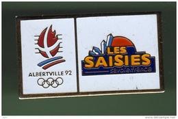 JO ALBERTVILLE 92 *** LES SAISIES ***  1034 - Jeux Olympiques