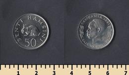 Tanzania 50 Senti 1981 - Tanzanía