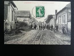 CPA - 27 - LONGCHAMPS - Route De Mainneville (s) - Frankrijk