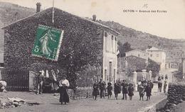 OCTON  Avenue Des ECOLES  ( Plan Animé ) - Frankreich