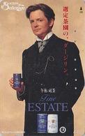 Télécarte Japon / 110-011 - Film Cinéma - MICHAEL J. FOX - Pub BIERE KIRIN BEER - Japan Movie Star Phonecard - 831 - Publicité