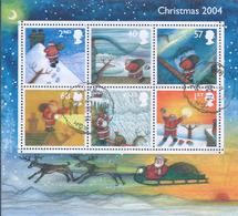 GREAT BRITAIN - ENGLAND - Gran Bretagna,2004 Merry Christmas -Minisheet (115 X 105mm) - Nuovi