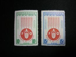 "Panama, 1963 FAQ ""Freedom From Hunger' Campaign Scott #C282-C283 MNH CV 0,80USD - Panama"