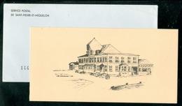 2 Mars 1986, Rétablissement Des Timbres Particuliers à SPM. Carton D'invitation Premier Jour (7551) - Lettres & Documents
