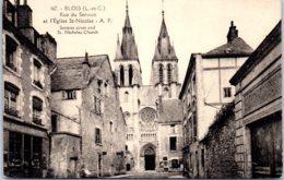 41 BLOIS - Rue Du Sermon Et L'église Saint-Nicolas - Blois