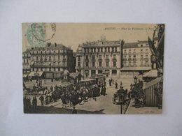 ANGERS-PLACE DU RALLIEMENT,LA POSTE 1905 - Angers