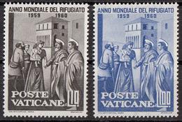 Vaticano 1960 Uf. 276-279 Distribuzione Delle Elemosine... Affresco Dipinto Masaccio - Rinascimento Nuovo MNH Paintings - Religious