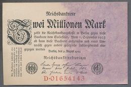 Pick104 Ro103a DEU-115a. 2 Million Mark 1923 NEUF - [ 3] 1918-1933 : República De Weimar